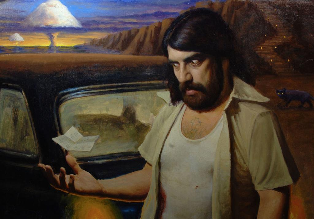 Ilustración Pintura Oleo Retrato Realista | Diego Catalan Amilivia