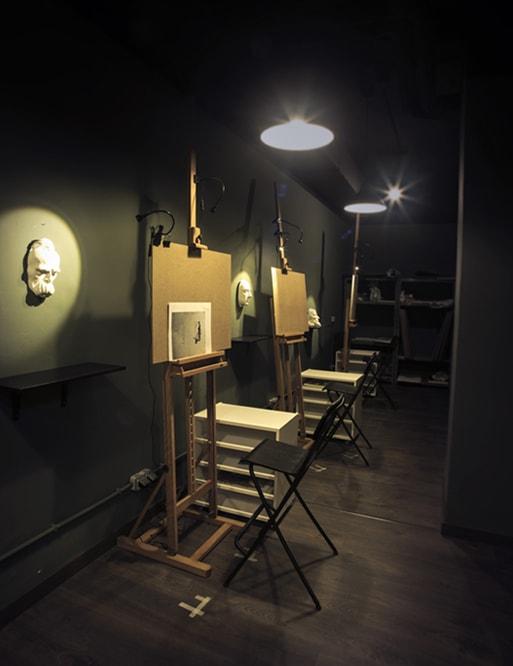 Estudio Nigredo. Academia de pintura y dibujo. Madrid.